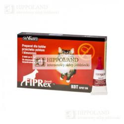 FIPREX KOT - 52.5mg/0.7ml - KROPLE PRZECIW PCHŁOM I KLESZCZOM DLA KOTÓW