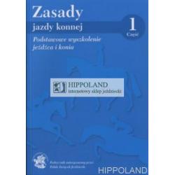 LITERATURA JEŹDZIECKA - ZASADY JAZDY KONNEJ cz. 1 - Praca zbiorowa