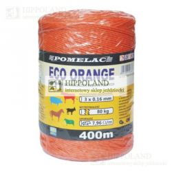 POMELAC PLECIONKA ECO ORANGE 400mb ŚREDNICA 1.5mm nr kat. 205-010-023