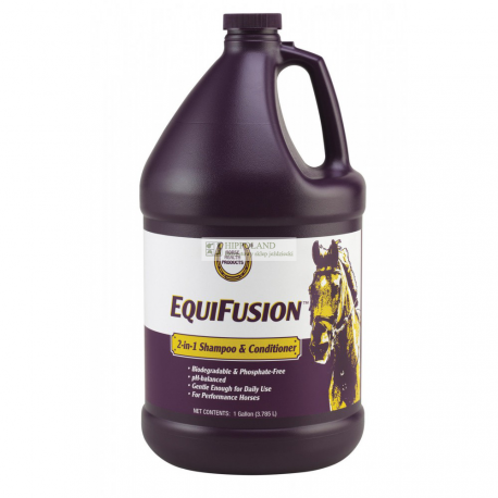 FARNAM EQUI FUSION - 2-IN-1 SHAMPOO & CONDITIONER - opakowanie 3,78l (galon)