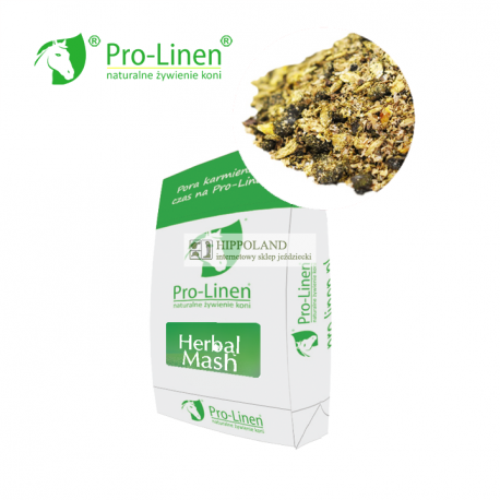 PRO-LINEN NATURAL HERBAL MASH - worek 15kg