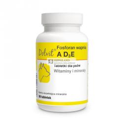 DOLFOS PIES FOSFORAN WAPNIA A,D3,E - opakowanie 90 tabletek