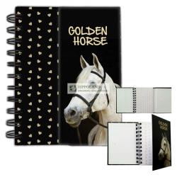 GOLDEN HORSE NOTES SPIRALNY MAGNETYCZNY