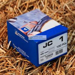 MUSTAD PODKOWIAKI - MODEL JC-1 - opakowanie 100szt.