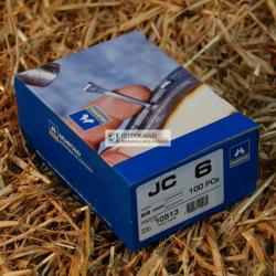 MUSTAD PODKOWIAKI - MODEL JC-6 - opakowanie 100szt.