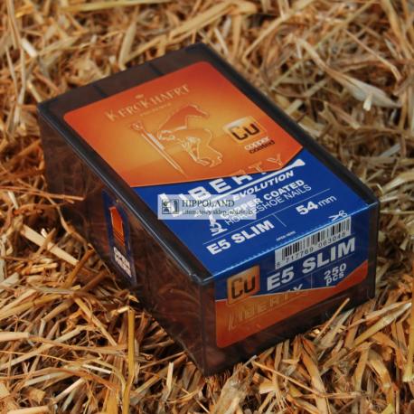 KERCKHAERT LIBERTY CU ESL 5 PODKOWIAKI MIEDZIOWANE - DLUGOSC 51mm (opakowanie 250 szt.)