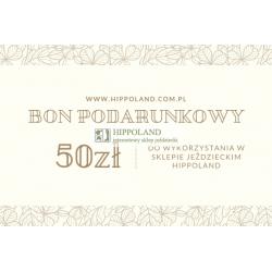 BON PODARUNKOWY HIPPOLAND O WARTOŚCI 50 zł