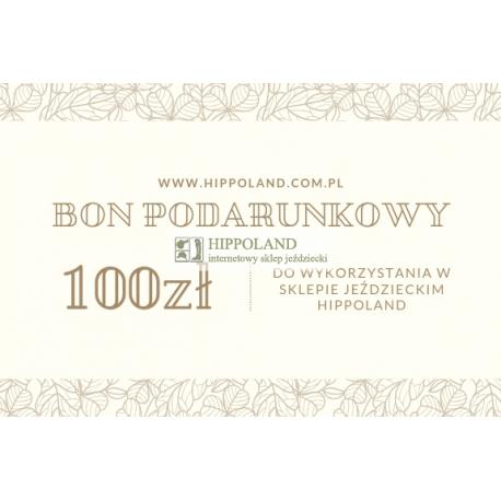 BON PODARUNKOWY HIPPOLAND O WARTOŚCI 100 zł