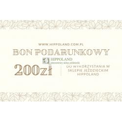 BON PODARUNKOWY HIPPOLAND O WARTOSCI 200 zł