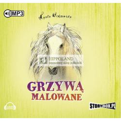 AUDIOBOOK GRZYWĄ MALOWANE - Agata Widzowska