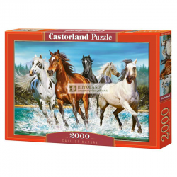CASTORLAND C-200702 CALL OF NATURE • PUZZLE 2000 ELEMENTÓW