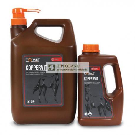 FORAN COPPERVIT • Preparat miedziowy dla koni • Opakowanie 5 litrów