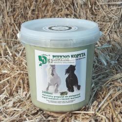 PIĘKNO KOPYTA MAŚĆ DO KOPYT (łój wołowy,oliwa) - opakowanie 1000 ml