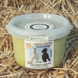 PIĘKNO KOPYTA MAŚĆ DO KOPYT (łój wołowy,oliwa,tran) - opakowanie 500 ml