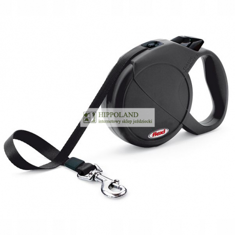 FLEXI CLASSIC COMPACT LARGE - smycz automatyczna dla psów o wadze do 60kg