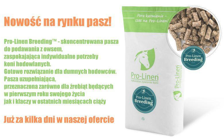 Pasze dla źrebiąt i klaczy źrebnych Pro-linen Breeding